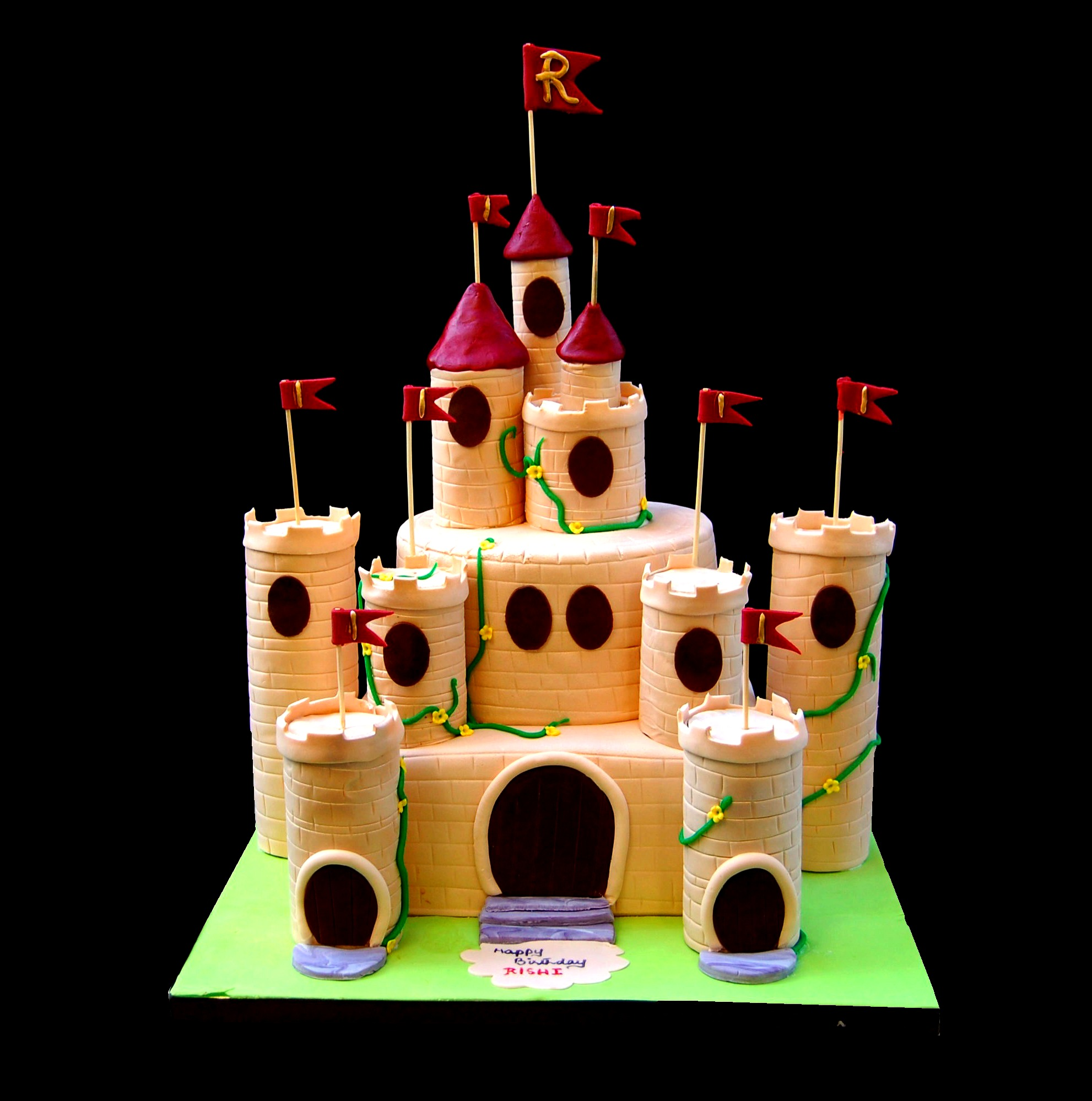 Castle themed Cake