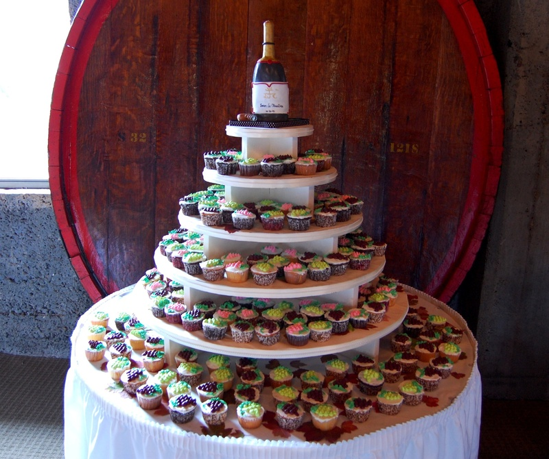 Cupcake towers are all the rage these days especially for Weddings