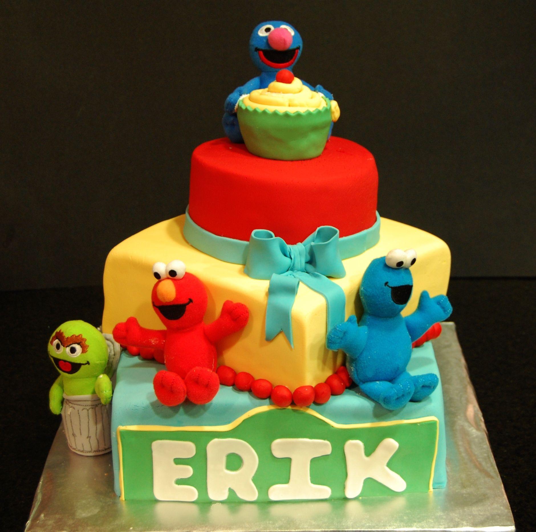 Sesame Street themed Cake