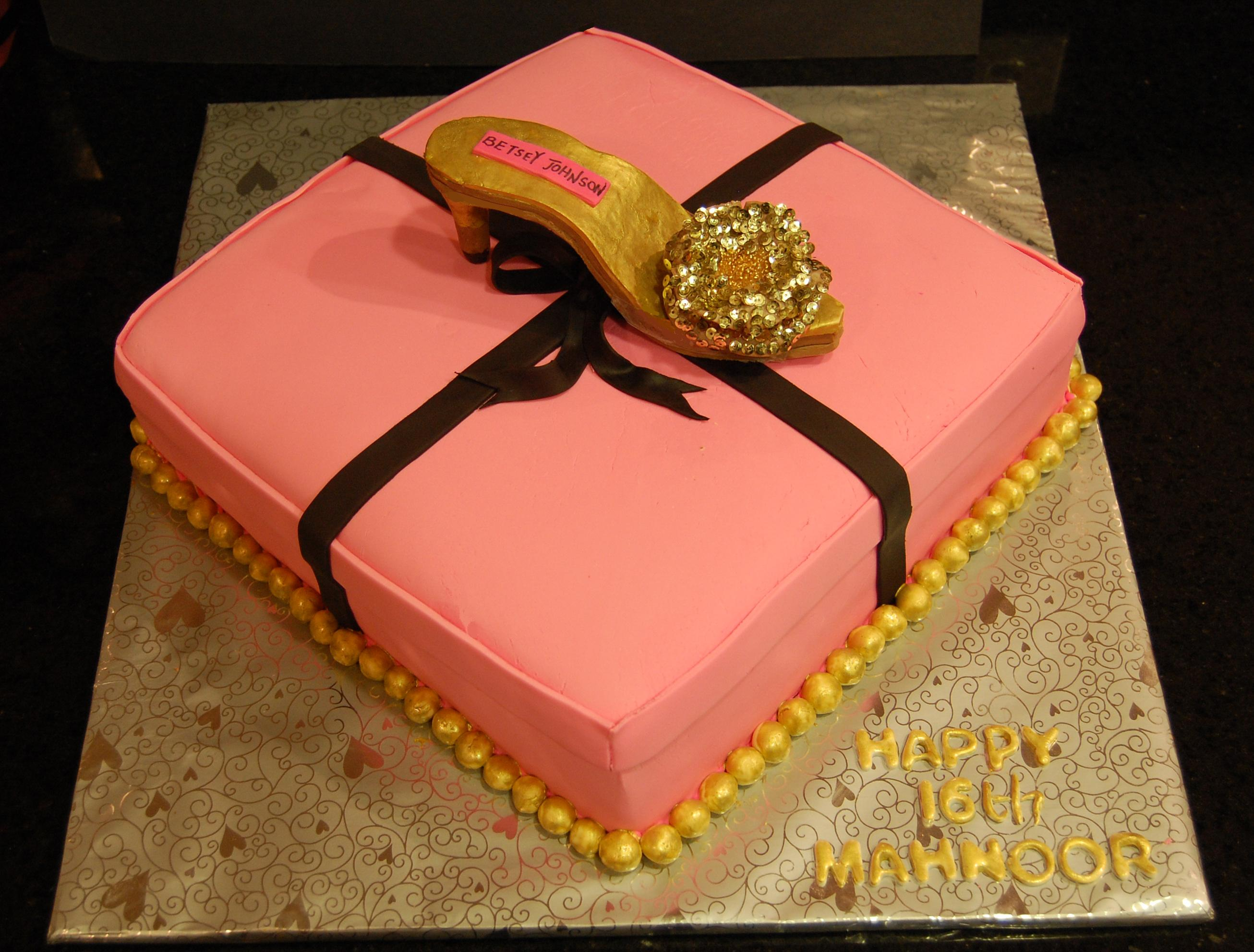 Betsey Johnson themed Cake