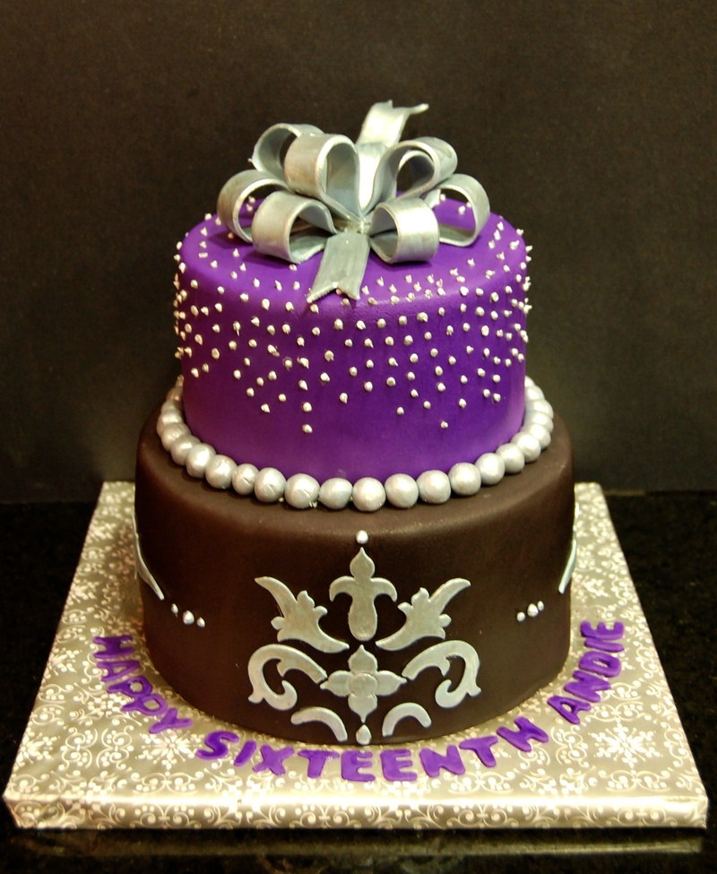 Sweet Sixteen Birthday Cakes Designs