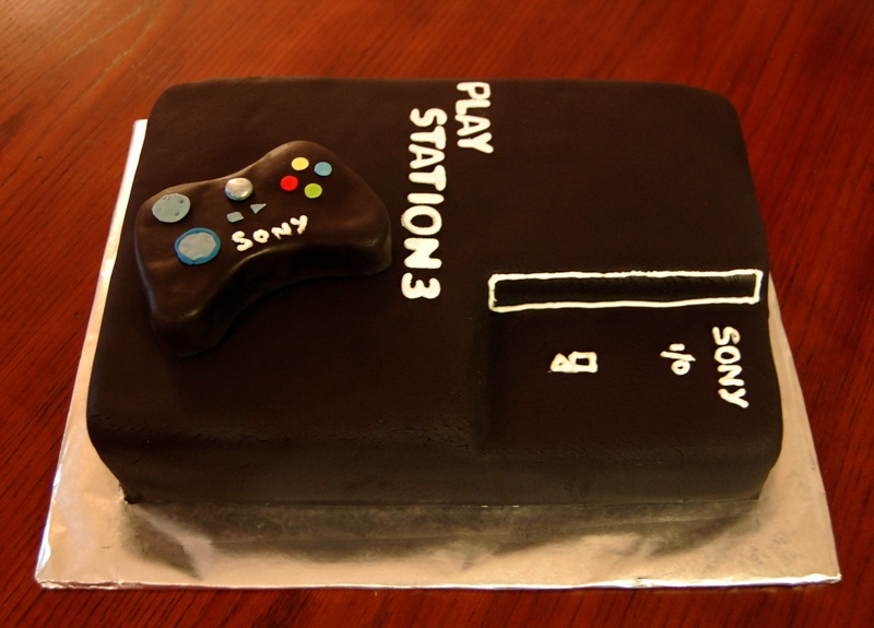 Play station 3 Cake