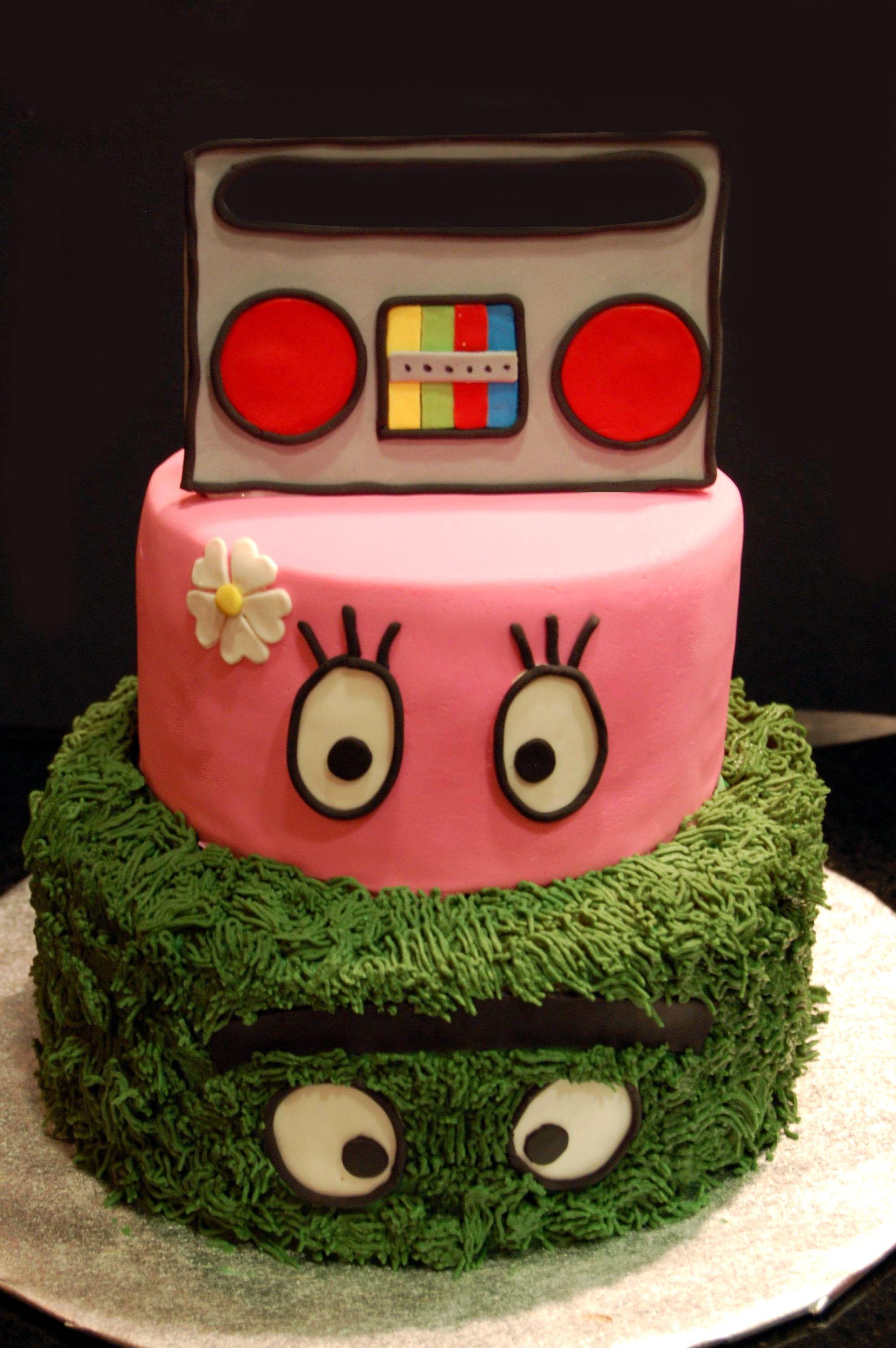 Yo Gabba Gabba Cake - Maria's Dream Cakes
