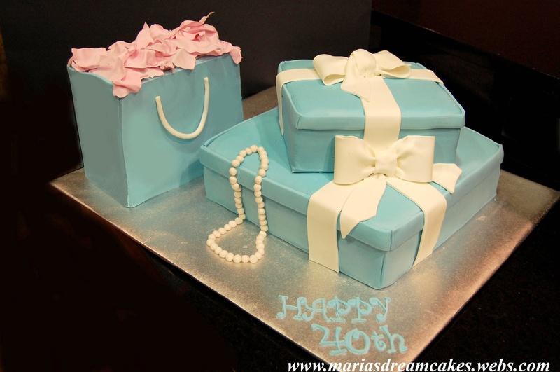 Tiffany Inspired Cakes