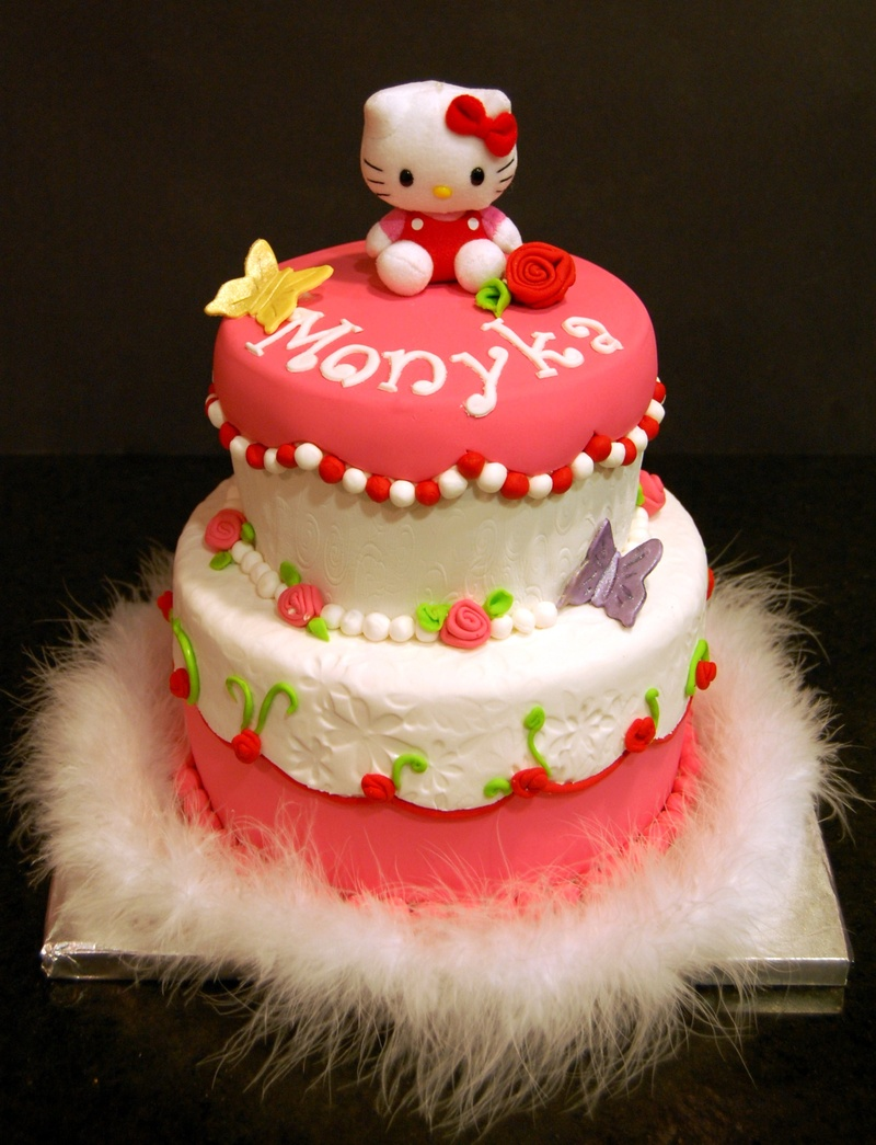 Images Of A Hello Kitty Cake : Hello Kitty Cake - Maria s Dream Cakes