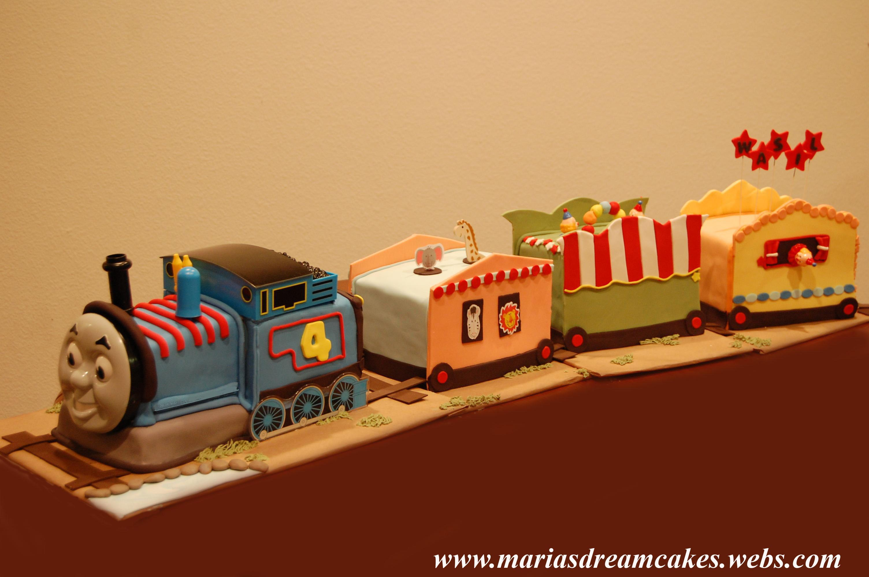 Circus Train with Thomas Engine