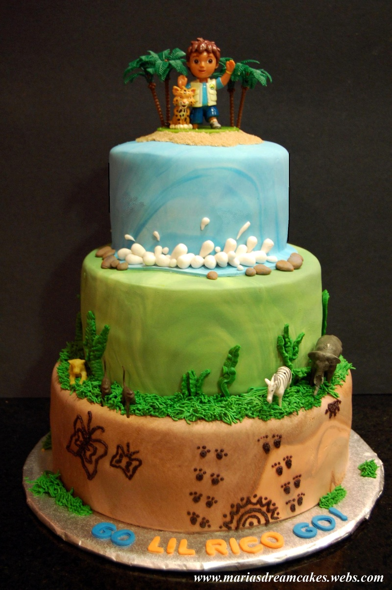 Diego themed Cake