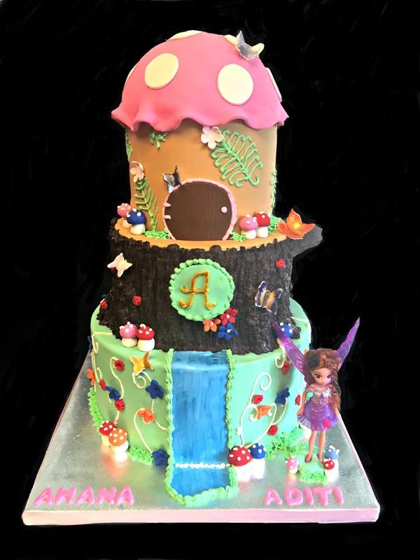 A fairy themed birthday