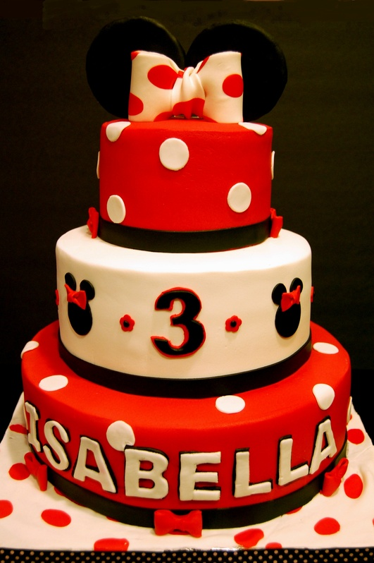 Minnie Mouse Birthday Marias Dream Cakes