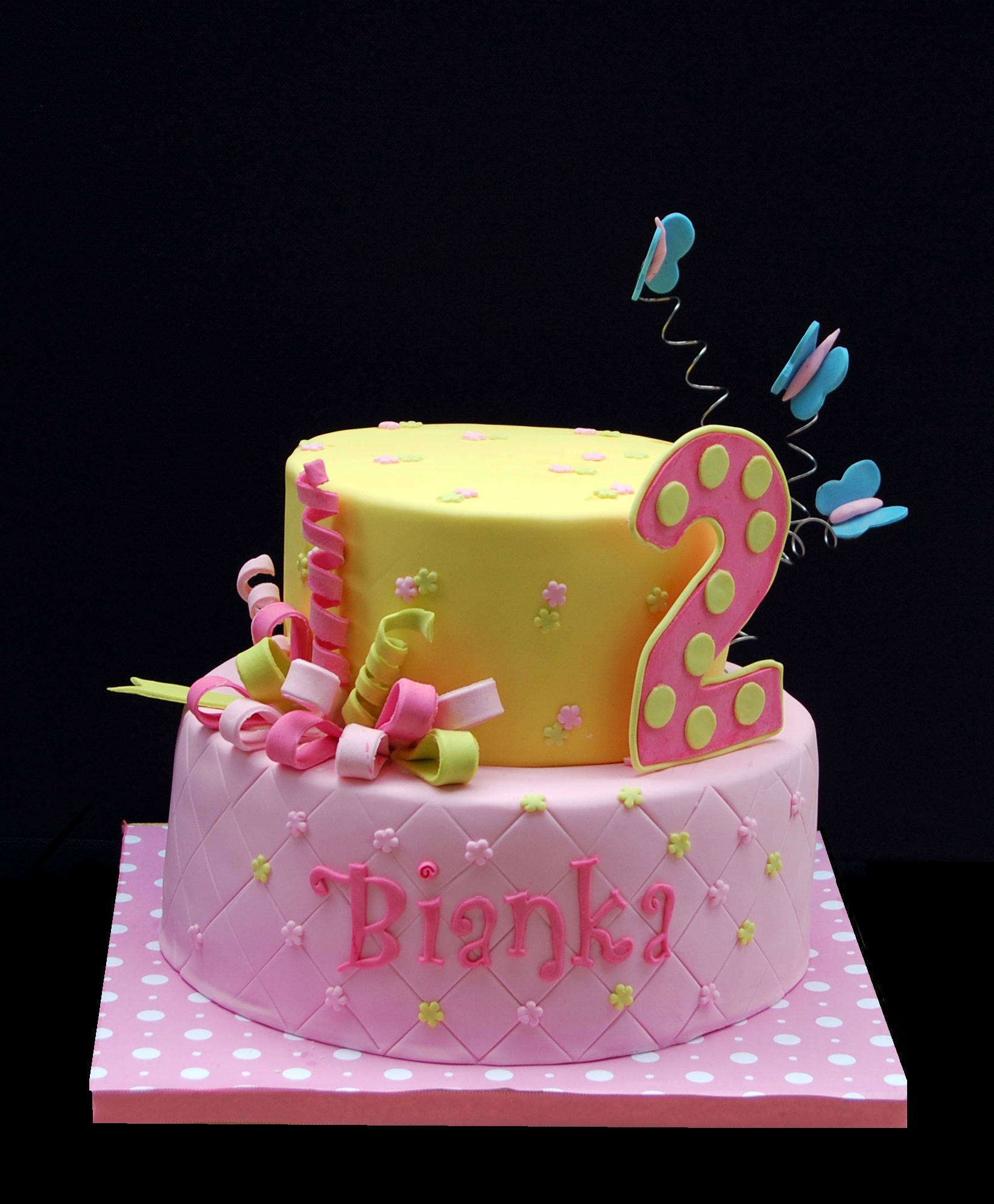 An adorable cake for an adorable 2 yr old