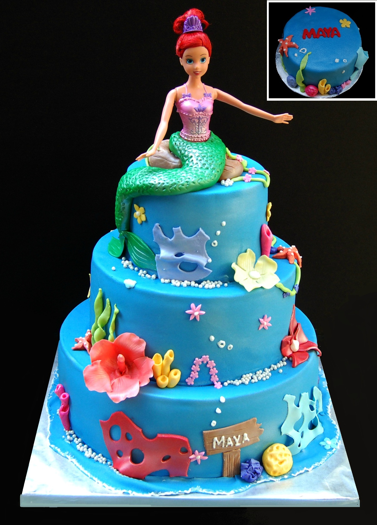 The Little Mermaid Cake Ideas