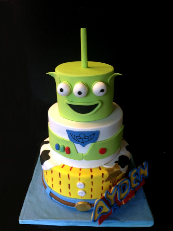 Toy story themed cake to serve 50 people